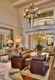 How Can I Brighten A Room With Brown Leather Sofa - Family room leather furniture
