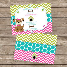 Invitation Card Of Birthday Party Top Collection Of Puppy Birthday Party Invitations Theruntime Com