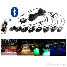 app controlled car lights a drag eight car lights rgb bluetooth app control suv decoration