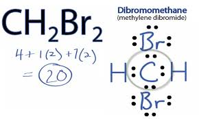 ch2br2 lewis structure how to draw the lewis structure for ch2br2