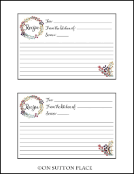 free printable recipe pages card lines recipe card free printable recipe cards free printable
