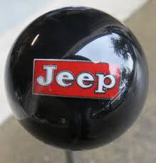 jeep shift knob vintage jeep logo shift knob houseospeed rod shift knob