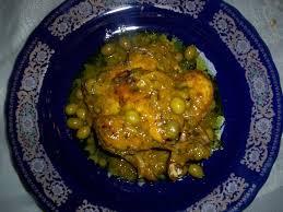 cuisine marocaine poulet aux olives recette de poulet aux olives et citron confit la recette
