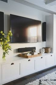 home design best ideas about wall mounted tv unit on pinterest