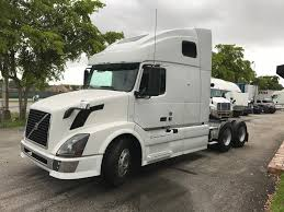 volvo truck sleeper cabs used 2012 volvo vnl64t670 tandem axle sleeper for sale in fl 1054
