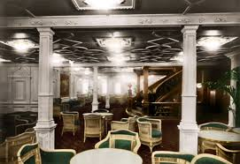 titanic first class dining room first class reception the first class dining room actually it
