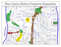 Atlanta Beltline Trail Map by Blue Heron Nature Preserve Grows Looks To Expand Trail Reporter