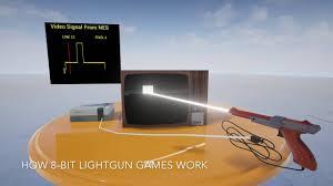 light gun arcade games for sale playing light gun games on a modern lcd tv youtube