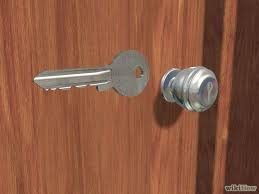 How To Open A Locked Bathroom Door 6 Easy Ways To Open A Locked Door Wikihow