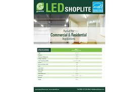 greenlite led shop light greenlite led shop light