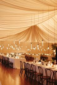 outdoor party tent lighting romantic outdoor wedding with bash please once wed french bistro