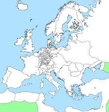 Map Of World Blank by Blank Map Of Europe 1648 By Xgeograd On Deviantart