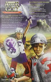 full armor of god playset rpkg david c cook 0612608504042