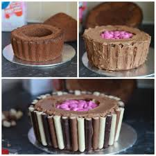 the crazy kitchen giant chocolate cupcake with a surprise inside