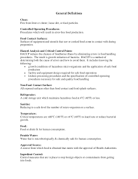 Linux Administrator Resume 1 Year Experience Haccp Food Safety Booklet