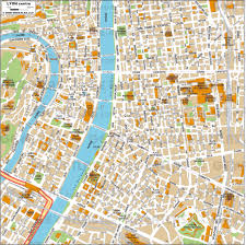 City Map Of New Orleans by Geoatlas City Maps Lyon Map City Illustrator Fully
