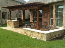 outdoor kitchen ideas on a budget appealing houston outdoor kitchen with cedar pergola patio at ideas