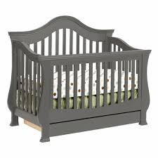 Sleigh Crib Convertible Million Dollar Baby Ashbury 4 In 1 Sleigh Convertible Crib With
