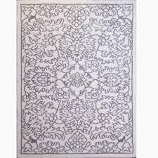 home dynamix carmela gray ivory trellis shag 3 ft 9 in x 5 ft 9