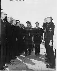 king george vi file king george vi of england inspects the crew of the u s s
