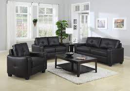 Black Sectional Sleeper Sofa by Leather Sofas Modern Living Room Modern Leather Black Living