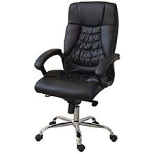Best Leather Office Chair Best Executive Office Chair High Back With Synchro Tilt
