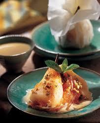 cuisine au gingembre recette poires au gingembre confit