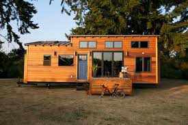 trendy tiny home on kootenay at home show by green leaf tiny homes