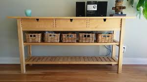 ikea console hack 25 ways to use and hack ikea norden buffet digsdigs