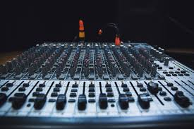 Studio Mixing Desks by Mixing Desk Stockography