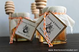 honey favors diy honey wedding favors honey jar wedding favors