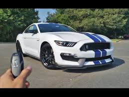 the shelby mustang 2017 ford mustang shelby gt350 start up exhaust walkaround and