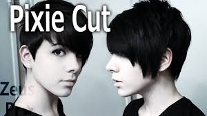 short haircuts to cut yourself how to cut own hair pixie cut youtube hair nails tips