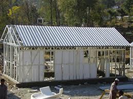 yellow modular homes light steel frame prefab house kits for living