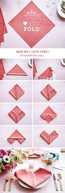 how to make table napkins your step by step guide to a heart napkin fold