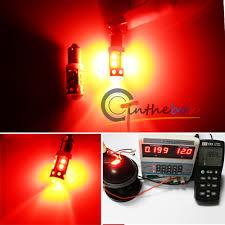 Automotive Led Lights Bulbs by 2pcs High Power Red 50w Cree 120 Bay9s H21w 64136 Car Auto Led