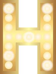 Gold Lights Free Illustration H Glamour Gold Lights Free Image On