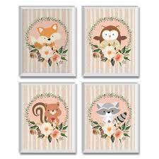 Woodland Animal Nursery Decor by Woodland Nursery Decor Woodland Animals Nursery Decor