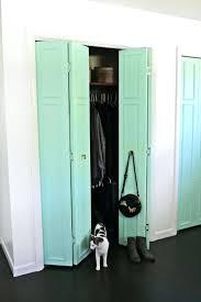 closet quad fold closet doors 3 panel sliding doors interior