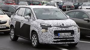 new citroen c3 new citroen c3 picasso looks cute even with all the camo