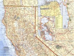 California Zip Code Map by Map Of Northern California California Map