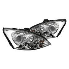 2003 ford focus headlight bulb 2003 ford focus custom factory headlights carid com