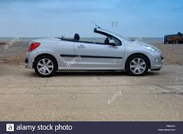 peugeot 206 convertible peugeot 206 cc coupe convertible open top car with folding metal