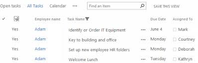onboarding employees using sharepoint workflow dmc inc