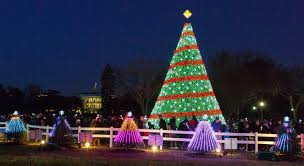 christmas tree lighting dc christmas lights decoration