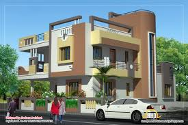 duplex house plan and elevation sq ft kerala home awesome front