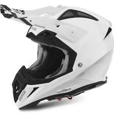 airoh motocross helmets airoh aviator 2 2 white gloss helmet motocard