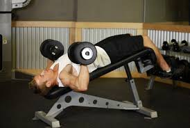 Bench Exercises With Dumbbells 5 Chest Muscles Strengthening And Power Exercises With Dumbbells