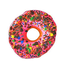 amazon com donut novelty food throw pillows lifelike designs