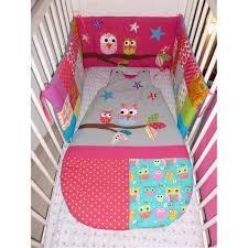 chambre bebe hiboux tour de lit sur mesure gigoteuse personnalisée cousu selon